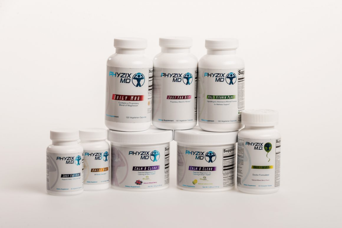 Bonvera's Phyzix MD line is an excellent line of vitamins, supplements, and minerals for everyday health and nutrition.