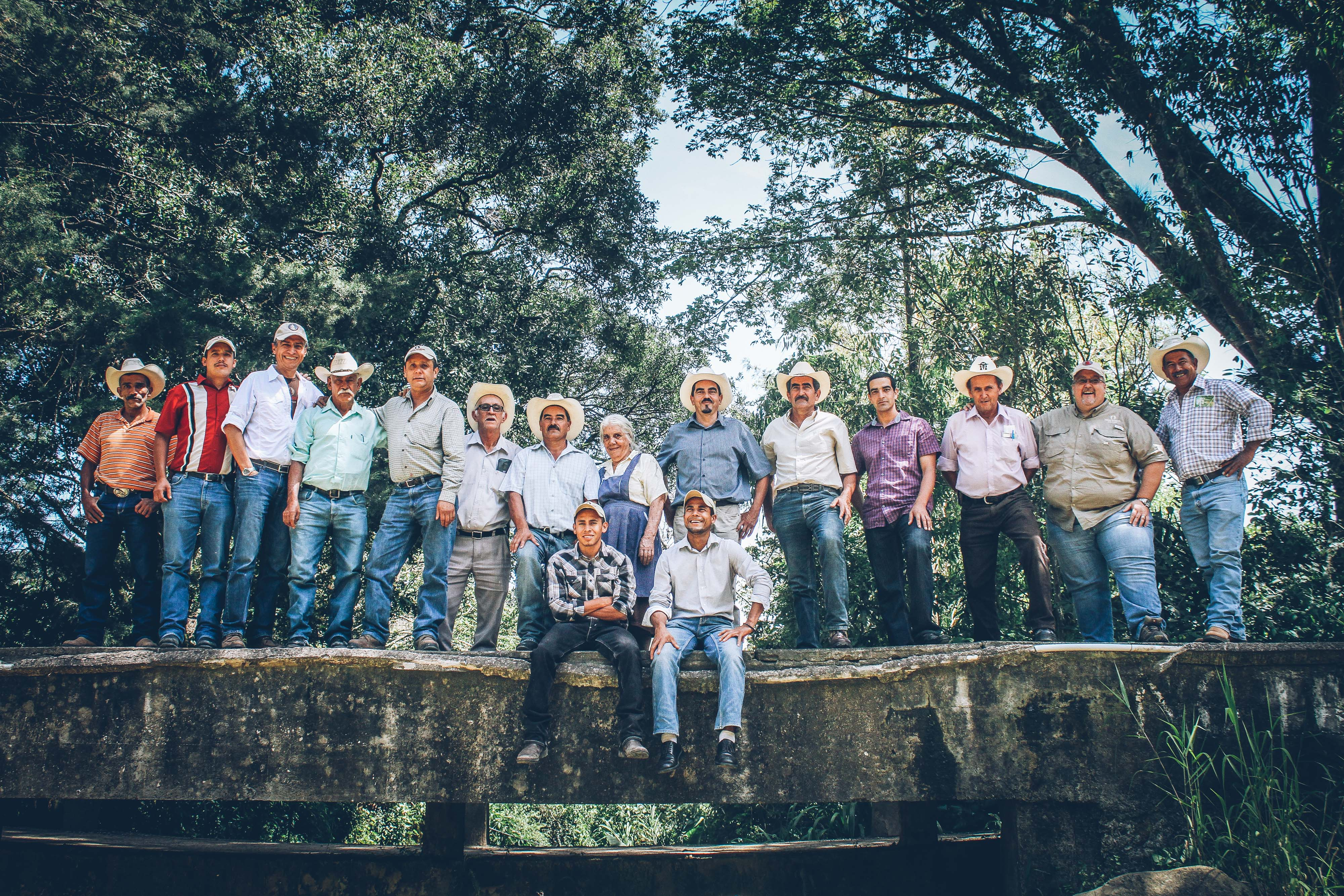 Here are some of the Thrive Farmers behind Thrive Farmers coffee.