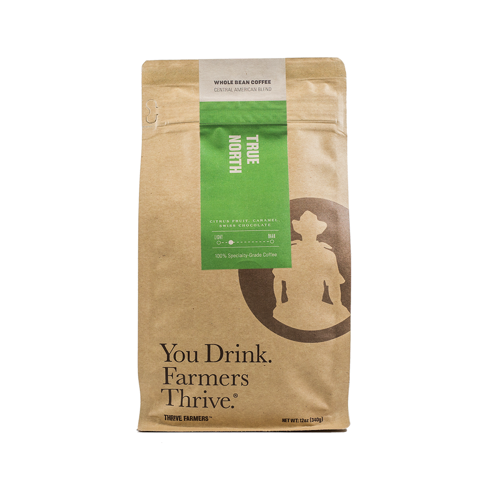 True North is one Thrive Farmers coffee products.