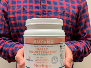 Daily Nourishment: A Meal Replacement Shake made with moringa is a great product for weight loss.