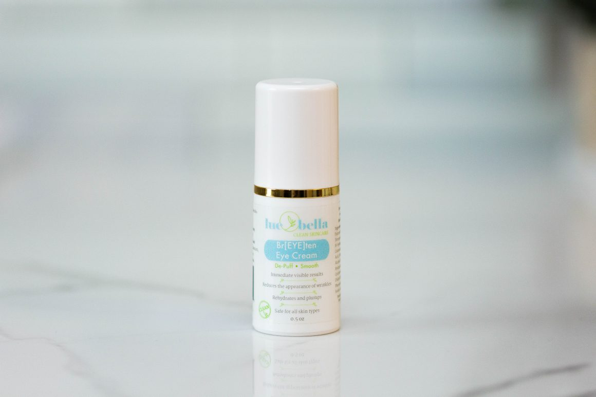 Br[EYE]ten Eye Cream is a fantastic eye cream for smooth wrinkles around the eye area or for puffy eyes.